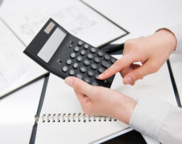 利率3%の場合の、複利現価率の計算結果(一覧表)