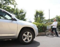 逆走自転車と自動車の事故における過失割合をケース別に解説