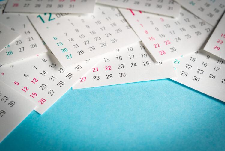 年間休日100日以下は違法の可能性あり!法律の規定と対処法を紹介